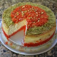 Knafeh Cheesecake