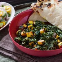 Spinach with Paneer | Palak Paneer