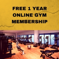 FREE 1 YEAR ONLINE GYM MEMBERSHIP!