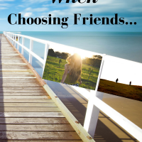 10 Things I want to teach my kids about choosing Friends