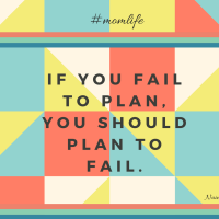 Fail to Plan; Plan to Fail